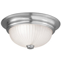Livex Lighting Beacon Hill 3 Light Ceiling Mount in Brushed Nickel 7419-91