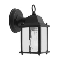 Livex 7506-04 Outdoor Basics 1 Light 8 inch Black Outdoor Wall Lantern