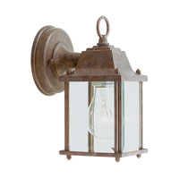 Livex Lighting Outdoor Basics 1 Light Outdoor Wall Lantern in Weathered Brick 7506-18