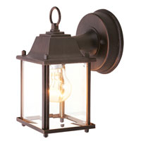 Livex Lighting Outdoor Basics 1 Light Outdoor Wall Lantern in Imperial Bronze 7506-58