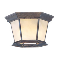 Livex Lighting Hamilton 3 Light Outdoor Ceiling Mount in Moroccan Gold 7510-50