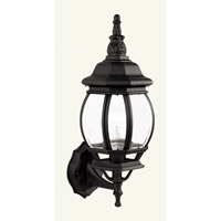 Livex Lighting Frontenac 1 Light Outdoor Wall Lantern in Black 7518-04