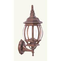 Livex Lighting Frontenac 1 Light Outdoor Wall Lantern in Weathered Brick 7518-18