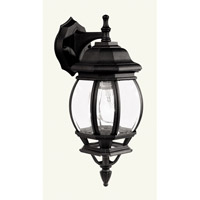 Livex Lighting Frontenac 1 Light Outdoor Wall Lantern in Black 7519-04