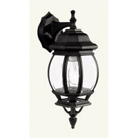 Livex Lighting Frontenac 1 Light Outdoor Wall Lantern in Black 7519-04