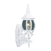 Livex 7520-03 Frontenac 1 Light 21 inch White Outdoor Wall Lantern
