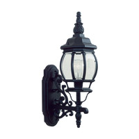 Livex Lighting Frontenac 1 Light Outdoor Wall Lantern in Black 7520-04
