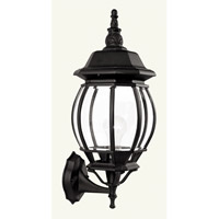 Livex Lighting Frontenac 1 Light Outdoor Wall Lantern in Black 7521-04