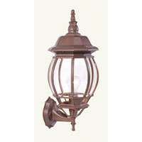 Livex Lighting Frontenac 1 Light Outdoor Wall Lantern in Weathered Brick 7521-18