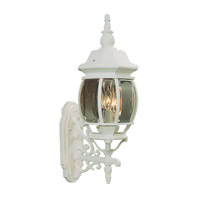 Livex Lighting Frontenac 3 Light Outdoor Wall Lantern in White 7524-03