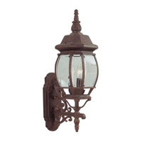 Livex Lighting Frontenac 3 Light Outdoor Wall Lantern in Weathered Brick 7524-18