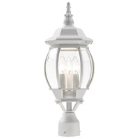 Livex Aluminum Frontenac Post Lights