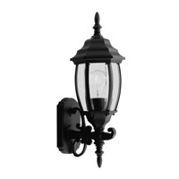 Livex Lighting Kingston 1 Light Outdoor Wall Lantern in Black 7532-04