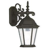 Livex Lighting 75462-14 Hamilton 1 Light 15 inch Textured Black Outdoor Wall Lantern
