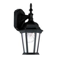 Livex Lighting Hamilton 1 Light Outdoor Wall Lantern in Black 7550-04