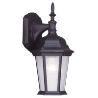 Livex Lighting Hamilton 1 Light Outdoor Wall Lantern in Bronze 7550-07