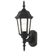 Livex Lighting 7551-14 Hamilton 1 Light 17 inch Textured Black Outdoor Wall Lantern