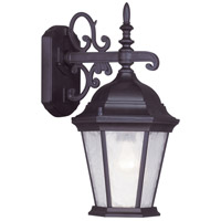 Livex Lighting Hamilton 1 Light Outdoor Wall Lantern in Bronze 7555-07