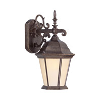 Livex Lighting Hamilton 1 Light Outdoor Wall Lantern in Moroccan Gold 7555-50