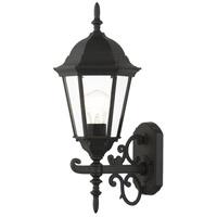 Livex Lighting 7556-14 Hamilton 1 Light 20 inch Textured Black Outdoor Wall Lantern