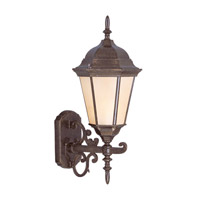 Livex Lighting Hamilton 1 Light Outdoor Wall Lantern in Moroccan Gold 7556-50