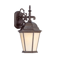 Livex Lighting Hamilton 3 Light Outdoor Wall Lantern in Moroccan Gold 7560-50