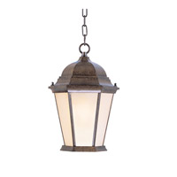 Livex Lighting Hamilton 3 Light Outdoor Hanging Lantern in Moroccan Gold 7564-50