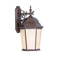 Livex Lighting Hamilton 3 Light Outdoor Wall Lantern in Moroccan Gold 7565-50