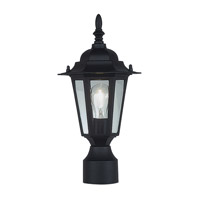 Livex Outdoor Basics 2 Light Outdoor Post Mount in Black 7607-04
