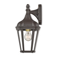 Livex 76181-07 Morgan 1 Light 14 inch Bronze Outdoor Wall Lantern