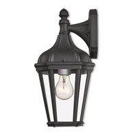 Livex Lighting 76181-14 Morgan 1 Light 14 inch Textured Black Outdoor Wall Lantern