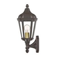 Livex 76182-07 Morgan 1 Light 14 inch Bronze Outdoor Wall Lantern