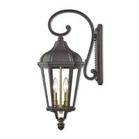 Livex 76186-07 Morgan 2 Light 24 inch Bronze Outdoor Wall Lantern
