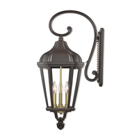 Livex 76192-07 Morgan 3 Light 29 inch Bronze Outdoor Wall Lantern