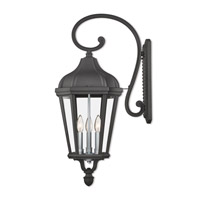 Livex 76192-14 Morgan 3 Light 29 inch Textured Black Outdoor Wall Lantern