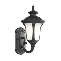 Livex Lighting Oxford 1 Light Outdoor Wall Lantern in Black 7650-04 photo thumbnail