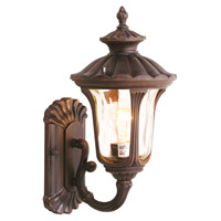 Livex 7650-58 Oxford 1 Light 16 inch Imperial Bronze Outdoor Wall Lantern