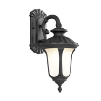 Livex Lighting Oxford 1 Light Outdoor Wall Lantern in Black 7651-04
