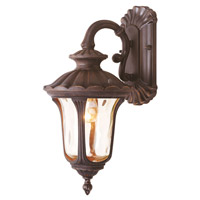 Livex Lighting Oxford 1 Light Outdoor Wall Lantern in Imperial Bronze 7651-58