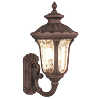 Livex 7652-58 Oxford 1 Light 18 inch Imperial Bronze Outdoor Wall Lantern