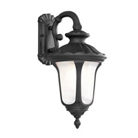 Livex Lighting Oxford 1 Light Outdoor Wall Lantern in Black 7653-04