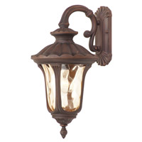 Livex Lighting Oxford 1 Light Outdoor Wall Lantern in Imperial Bronze 7653-58