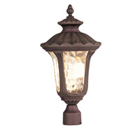 Livex Lighting Oxford 3 Light Outdoor Post Head in Imperial Bronze 7659-58
