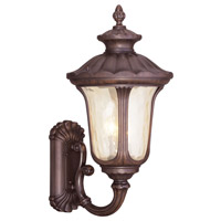 Livex 7662-58 Oxford 3 Light 28 inch Imperial Bronze Outdoor Wall Lantern