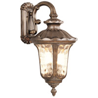 Livex Lighting Oxford 3 Light Outdoor Wall Lantern in Moroccan Gold 7663-50