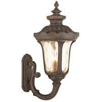Livex Oxford 4 Light Outdoor Wall Lantern in Imperial Bronze 76701-58