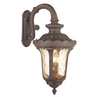 Livex Oxford 4 Light Outdoor Wall Lantern in Imperial Bronze 76702-58