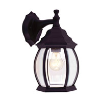 Livex Lighting Frontenac 1 Light Outdoor Wall Lantern in Black 7690-04