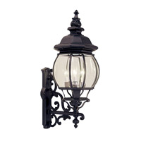 Livex Lighting Frontenac 4 Light Outdoor Wall Lantern in Black 7701-04