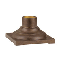Livex Lighting Outdoor Accessory Outdoor Pier Mount Adaptor in Moroccan Gold 7715-50